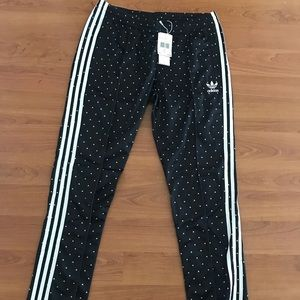 Adidas PU human race pants